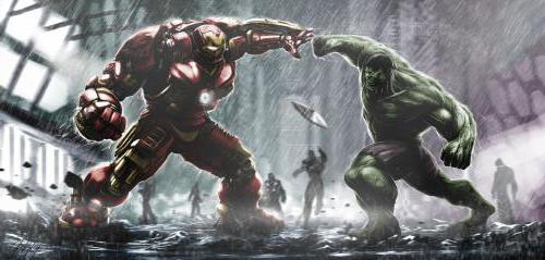 Железный человек против Халка